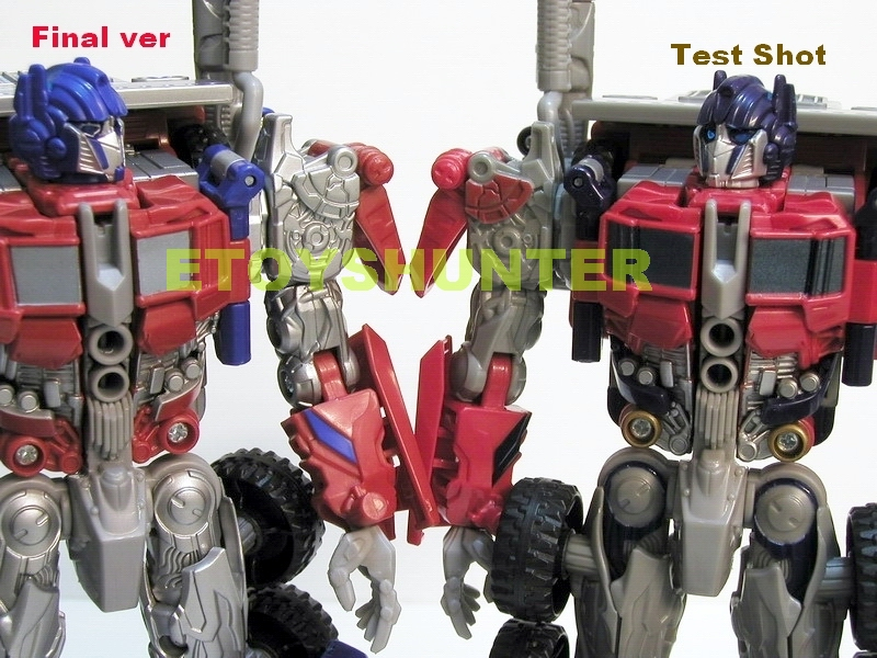 final transformers movie voyager optimus prime test shot