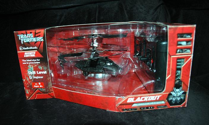 Transformers Movie Blackout Remote Controlled Helicopter Found At