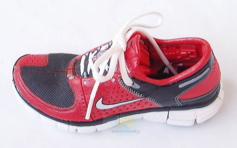 Cheap Nike FS Lite Run 2 Black/red Men Running Shoes 8 AHA Produktion