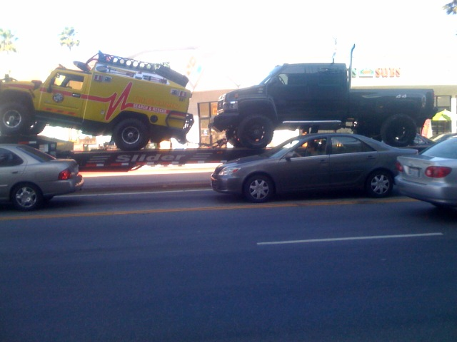Transformers 2 Vehicle Sightings Ratchet And Ironhide
