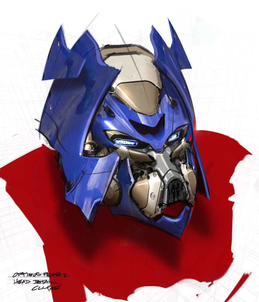 Transformers movie concept art galleries transformers - Optimus prime dessin ...