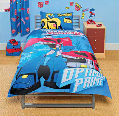 Transformers Animated Duvet Set Now Available For Order