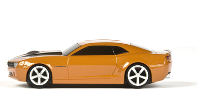 Camaro-orange-stripes-side