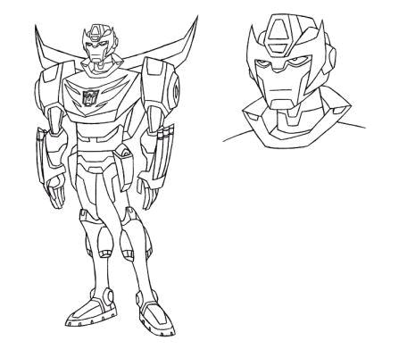 Images du design des personnages de Transformers Animated Rodimus_1223045289