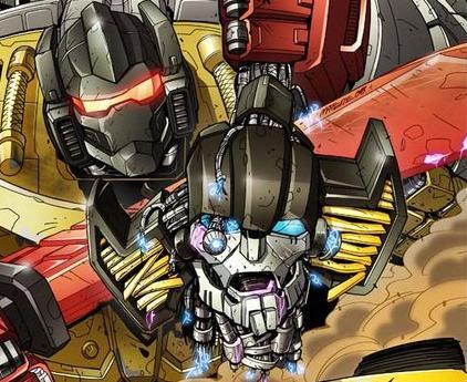 maximum dinobots 3 cover art transformers news tfw2005