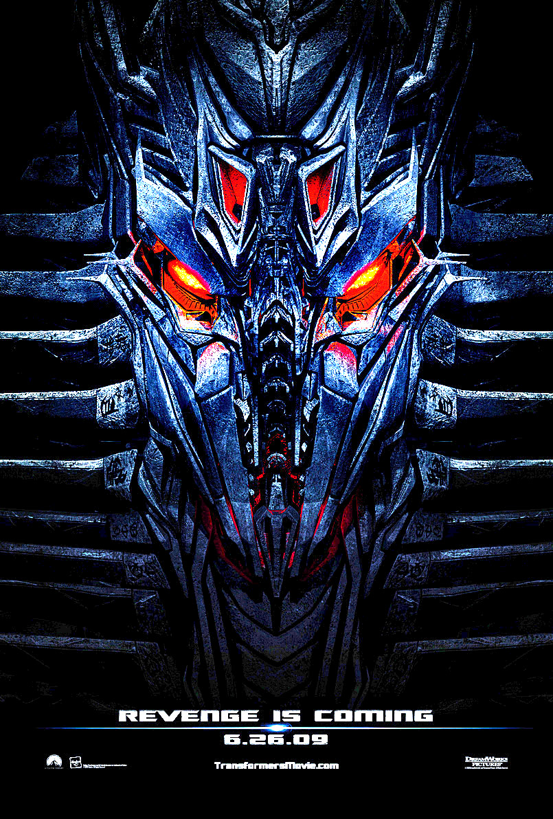 Transformers 2 Revenge of the Fallen Movie Poster ...
