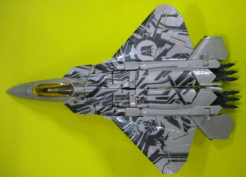 These new images show Starscream in his jet mode only, but show off the