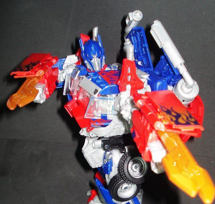 Extensive Revenge of the Fallen Leader Class Optimus Prime ...