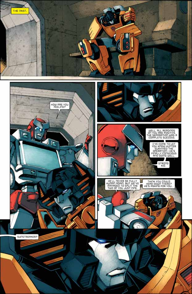 Transformers All Hail Megatron Issue 8 Five Page Preview