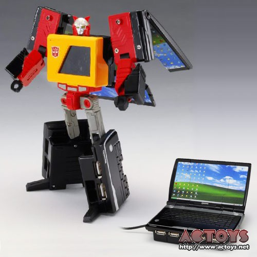 Jouets Transformers Crossover (Croisement) transformable ― Marvel, Star Wars, Street Fighter, Disney, Playstation, Montre, Téléphone, Tablette, etc - Page 2 1_1242409683
