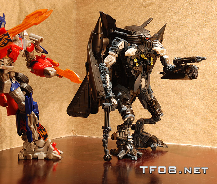 Transformers Revenge of the Fallen Jetfire In Hand Images ...