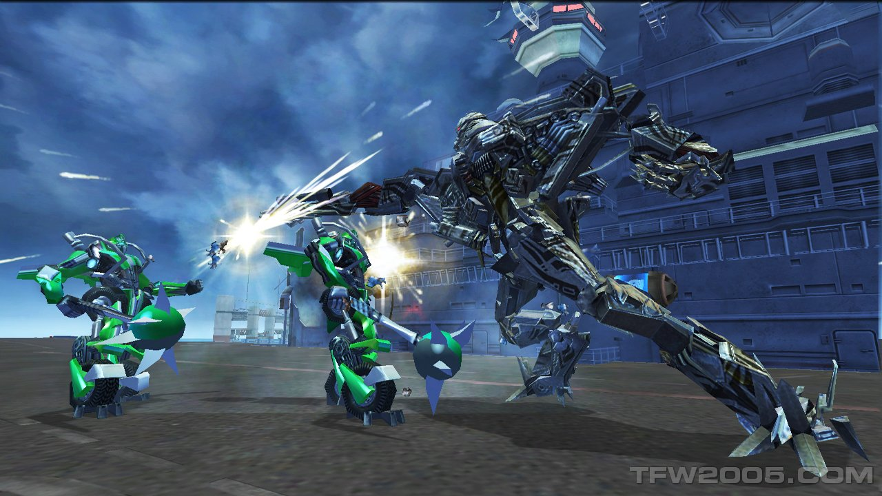 At this point our demo of Transformers Revenge of the Fallen for the