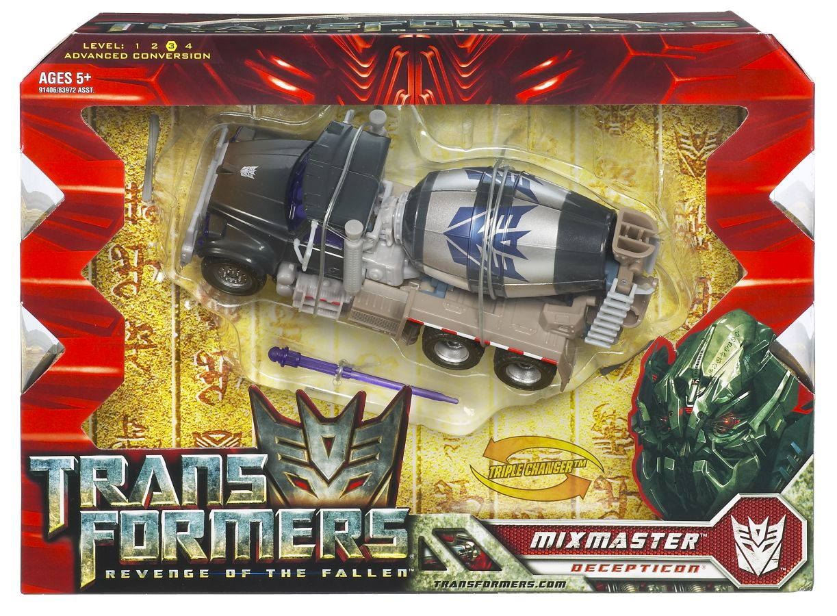 Transformers movie 2 voyger mixmaster