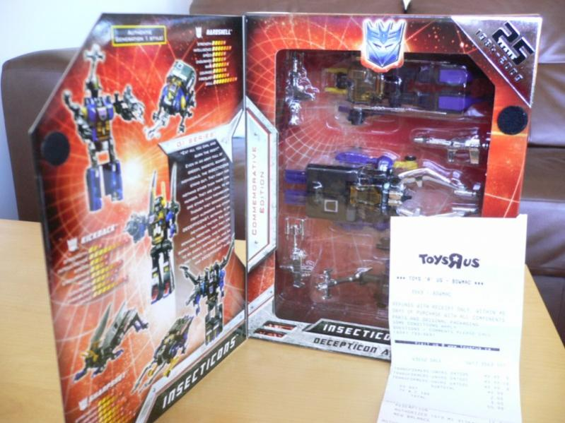 Transformers Universe Insecticons From Transformers Universe