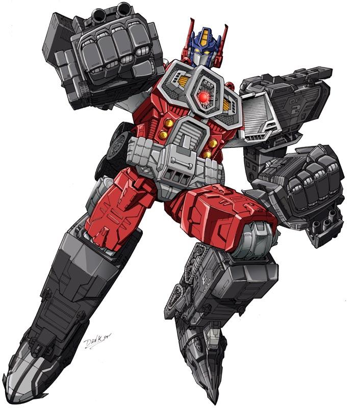 Artwork for Unreleased Transformers Energon Optimus Prime ...