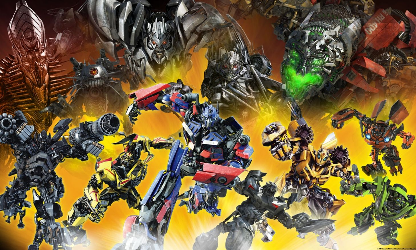 revenge of the fallen wall mural transformers news tfw2005