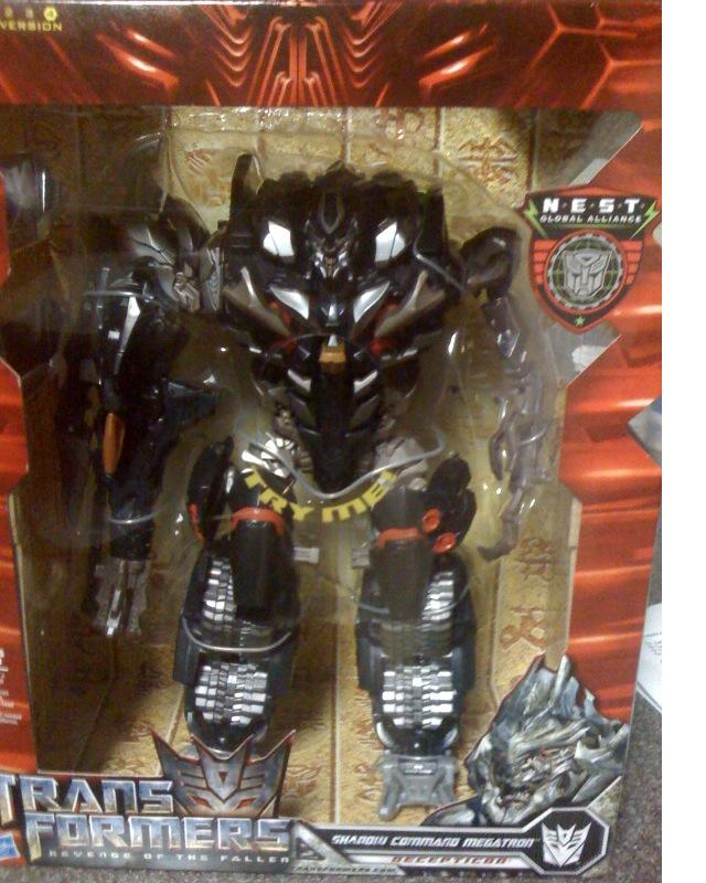 Shadow Command Megatron Out in the United States ...