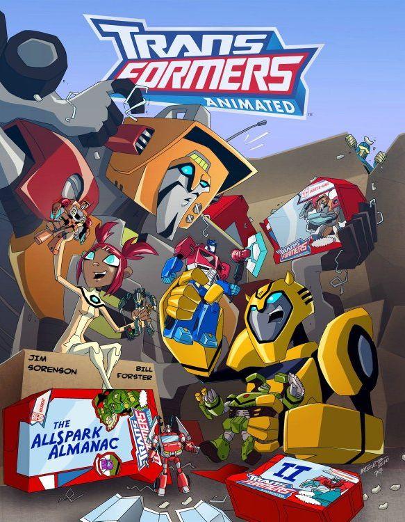 Transformers Animated Almanac Vol Ii Coming Page 2