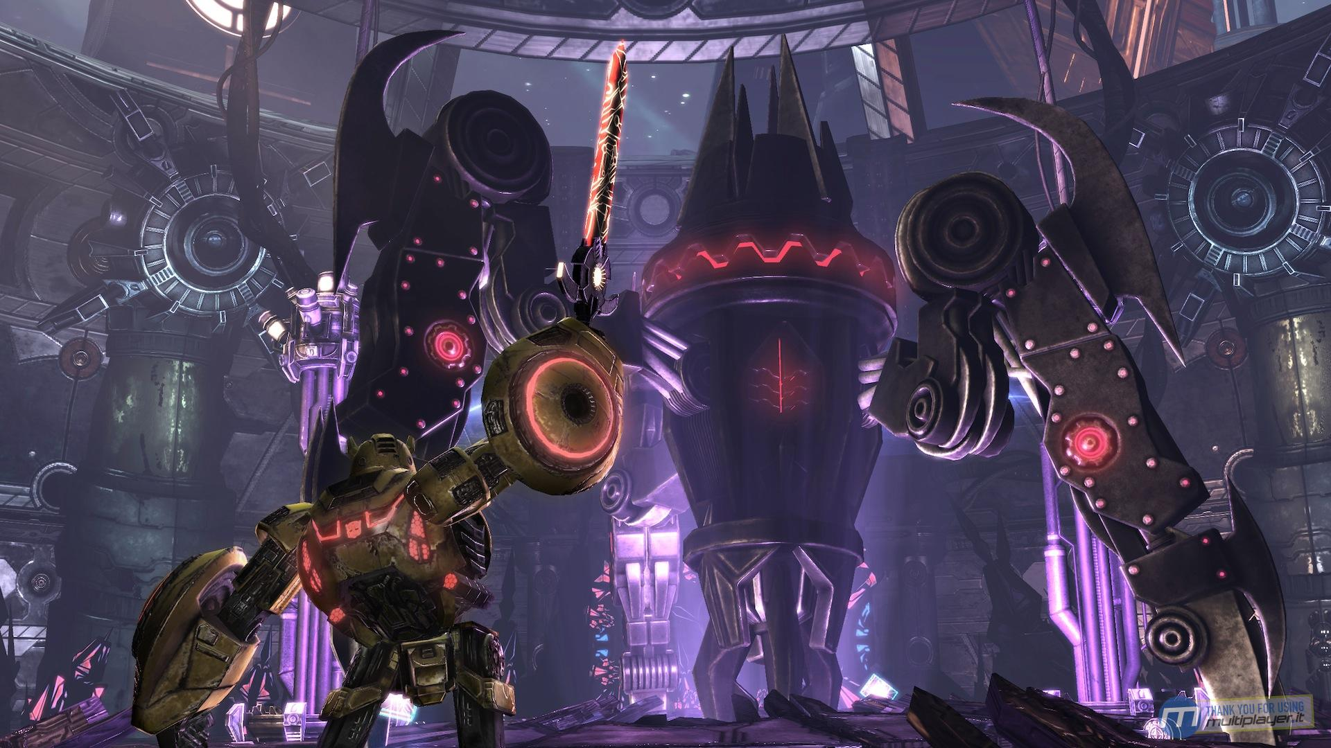 New transformers war for cybertron screenshots transformers news