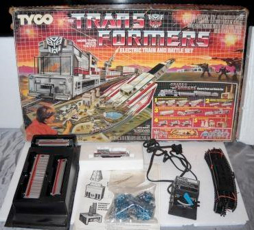 Transformers train set for sale