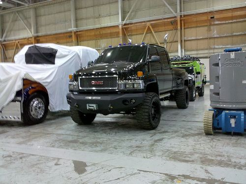 New Transformers 3 on set pictures - including a clear ...