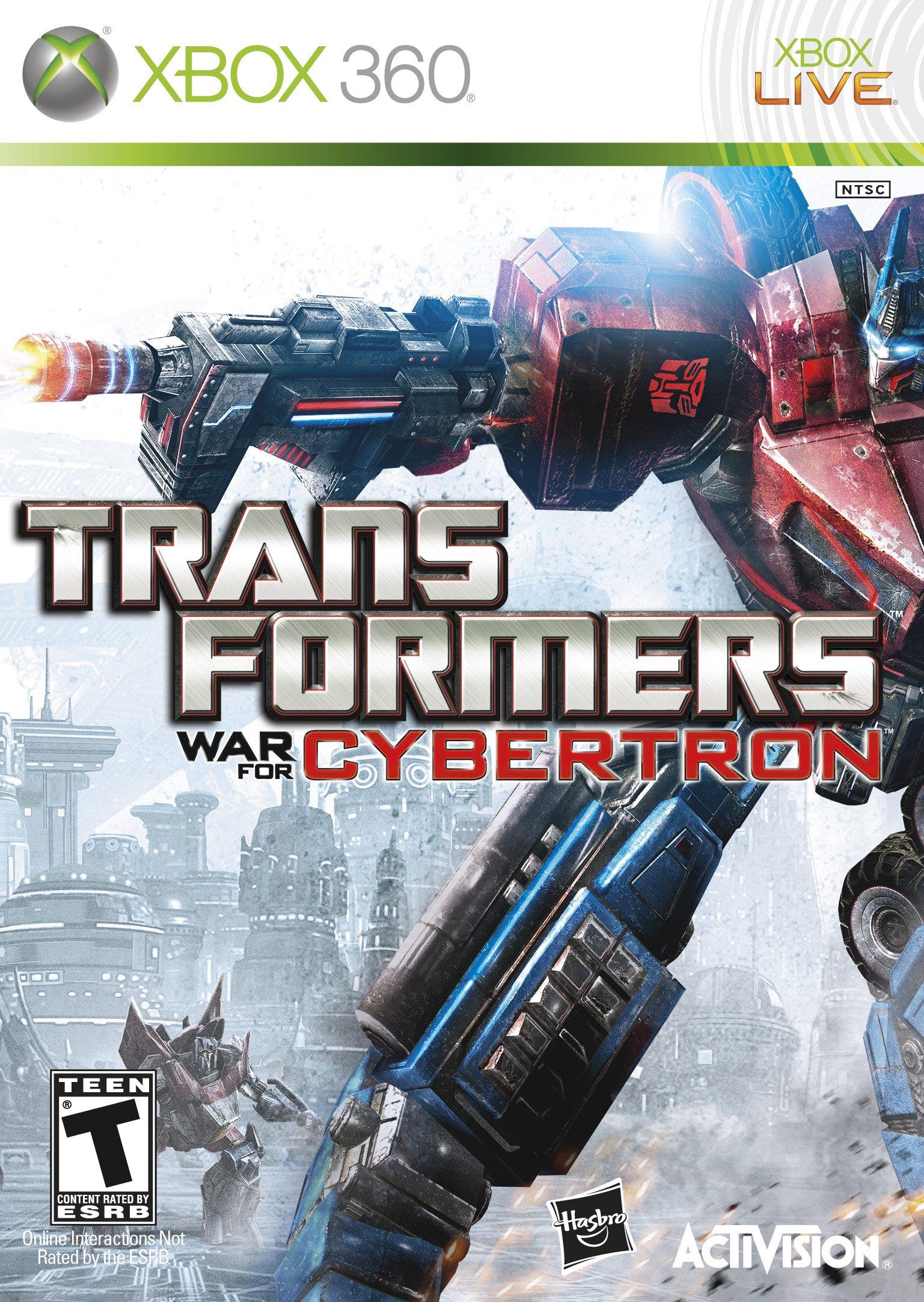 Transformers War For Cybertron (X-BOX 360) 2010