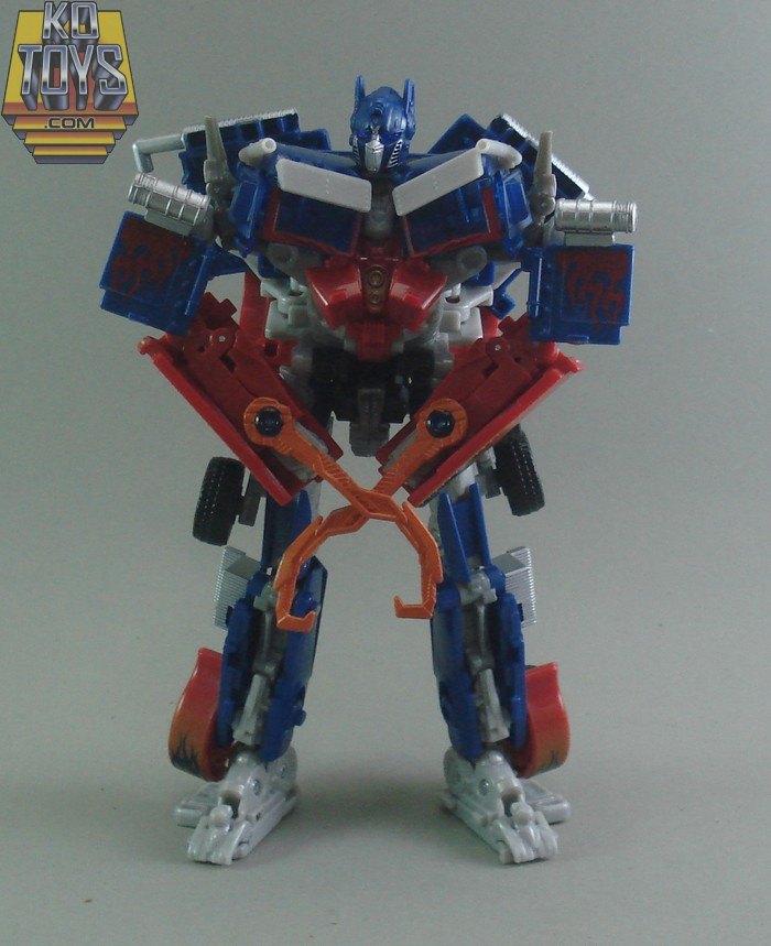 Optimus Prime Voyager Battle Hooks Version, Animated ...