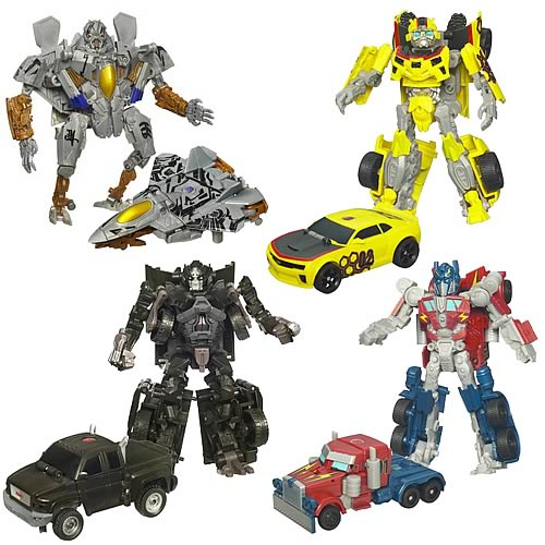 Activators Rally Rumble Optimus Prime And Bumblebee Image