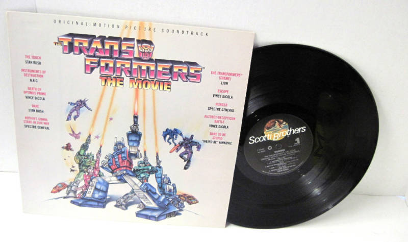 Vince Dicola S The Transformers 1986 Score Seeing Official