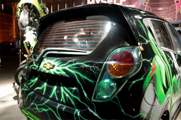 "Chevrolet ""Spark"" China With Transformers: Dark Of The"