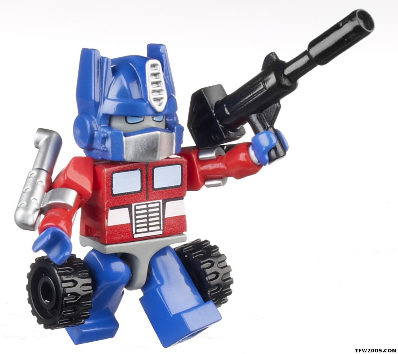 how to build a mini lego transformer