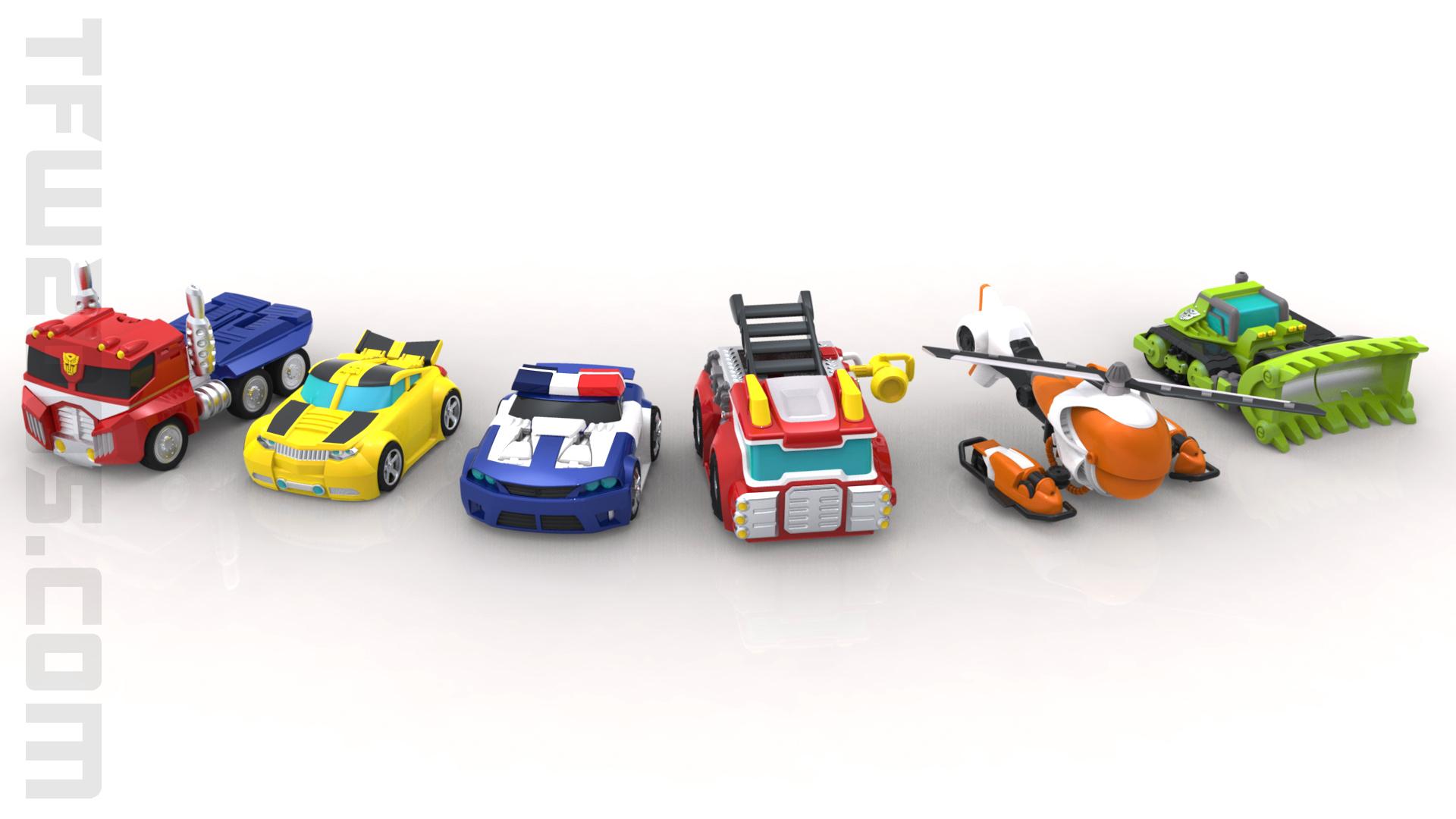 Transformers Rescue Bots Concept Art 6