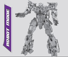 Transformers the last knight leader megatron chefatron toy review.