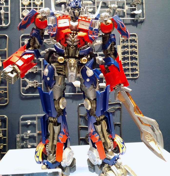 Takara Tomy Optimus Prime Model Kit Model Kit Optimus Prime