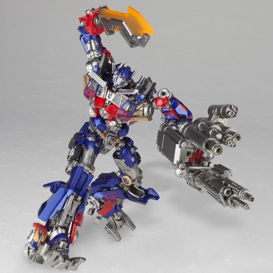 Sci Fi Transformer : Revoltech optimus prime new images transformers news