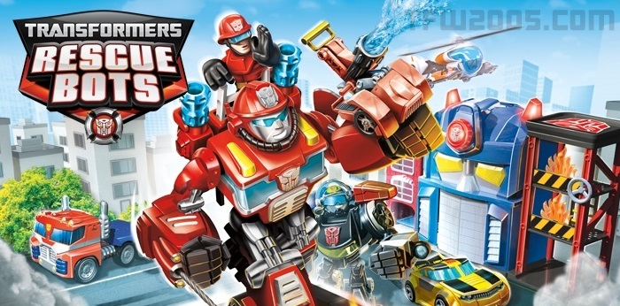 Transformers Rescue Bots Fire Station Prime Video Review
