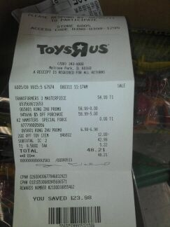 Local Selling Sites >> Toys'R'Us Exclusive Masterpiece Rodimus Prime Found in USA - Transformers News - TFW2005