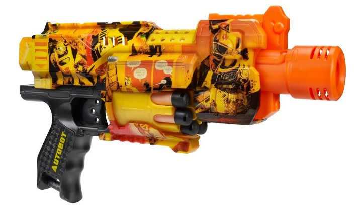NYCC Exclusive Bumblebee Nerf Gun - Additional Images. nyccbbblaster.  nyccbbblaster2