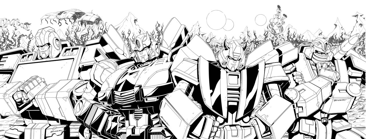 Transformers G1 Prowl Coloring PagesGPrintable Coloring Pages