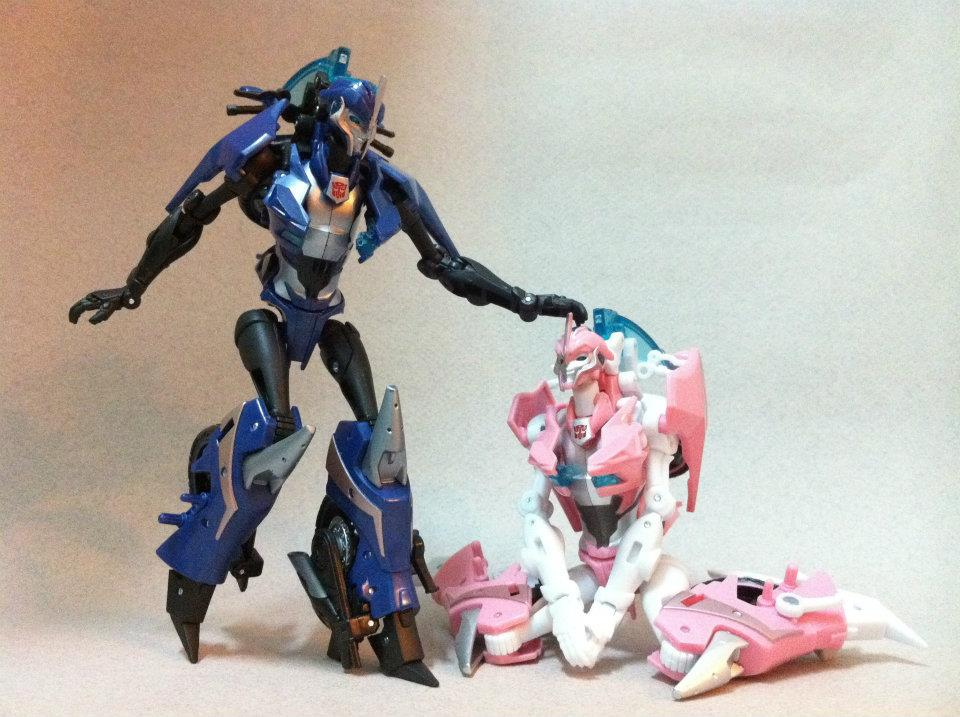 Gallery of Transformers Prime Arcee - Transformers News ...