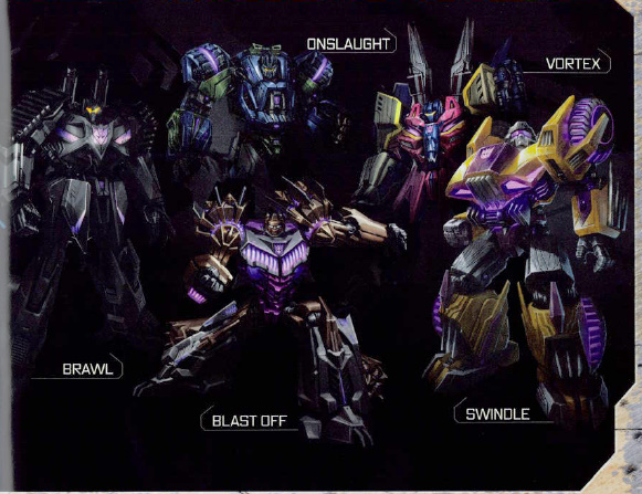 new pics of transformers fall of cybertron bruticus