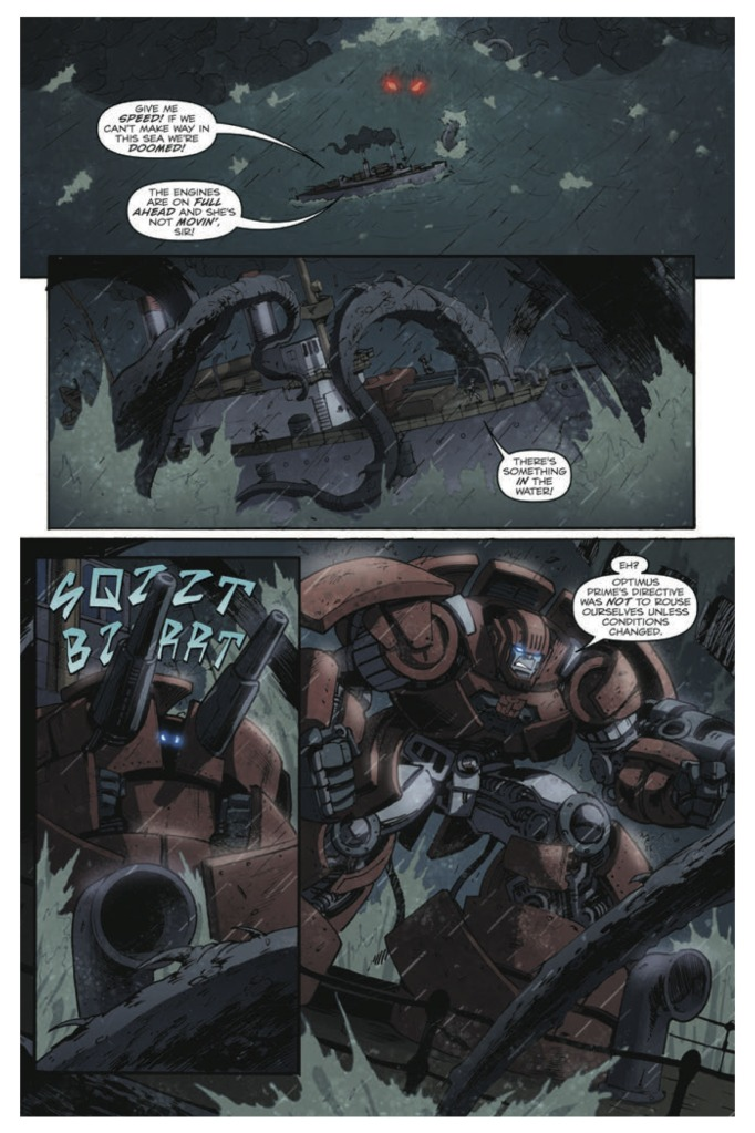 IDW Transformers Infestation 2 #1 Preview - Transformers ...