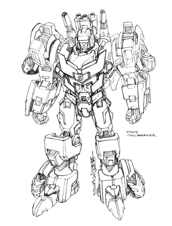 autobot skids and mudflap coloring pages | Alex Milne More Than Meets The Eye Concept Art ...