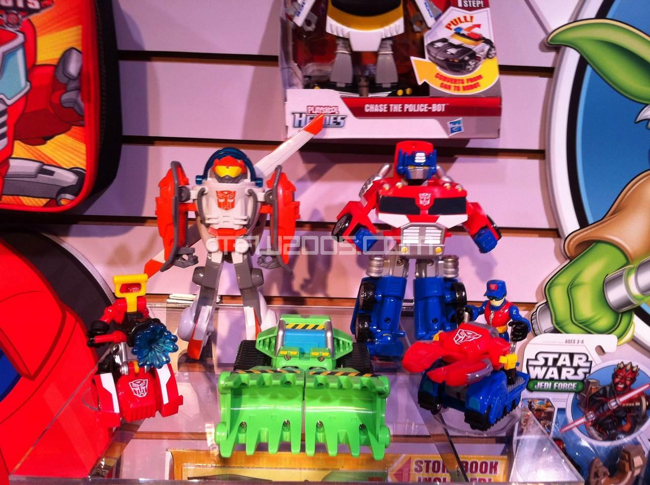 Rescue-Bots-Bot-Shots-002 Toy Fair 2012 Rescue Bots & Bot Shots Images