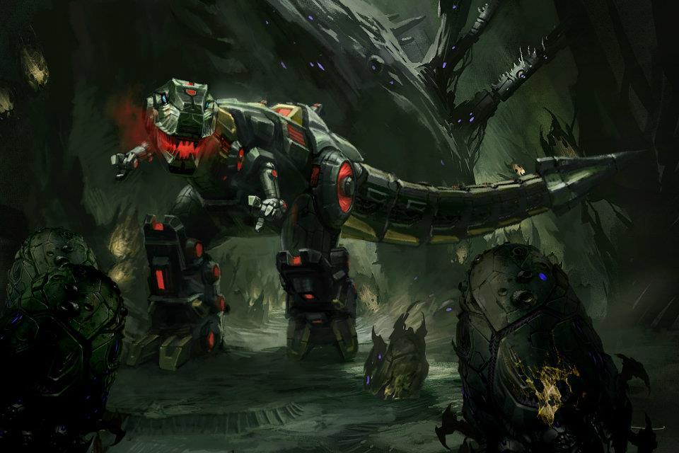 transformers fall of cybertron snarl concept art