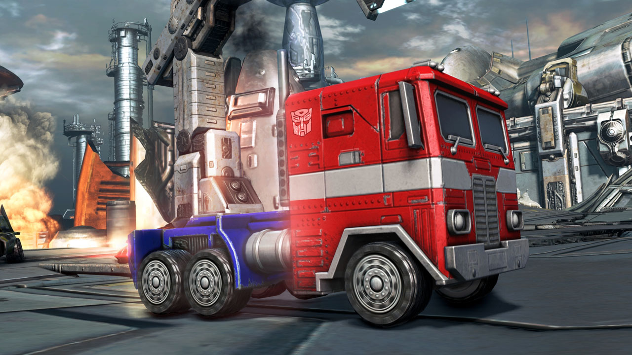 Transformers Optimus Prime Truck G1 Viewing Gallery