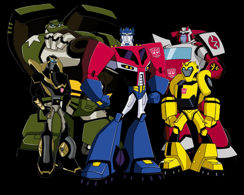 Transformersanimatedautobotsgrou transformers animated comes to the