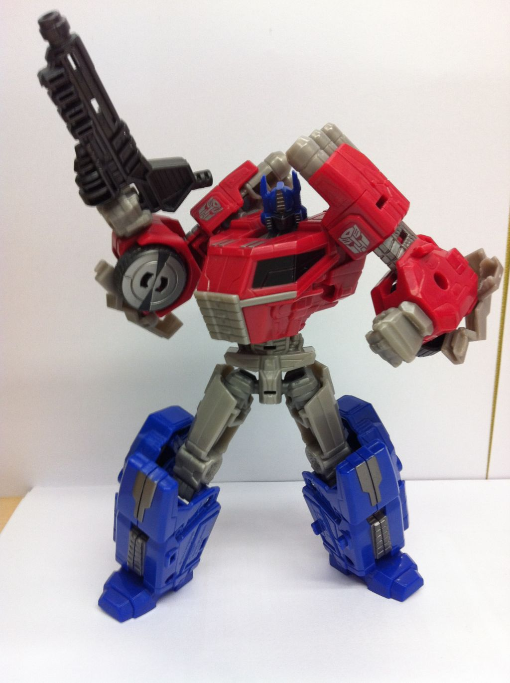 generations fall of cybertron optimus prime toy review