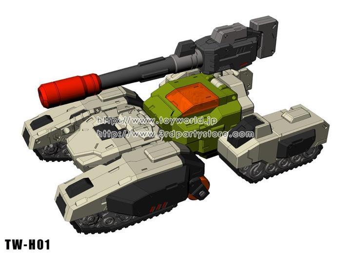 [Toyworld] Produit Tiers - Jouets Headmasters - TW-H01 Hardbone, TW-H02 Brainwave, TW-HO3 Swamper 403782_468806756480600_1225291100_n_1341146057