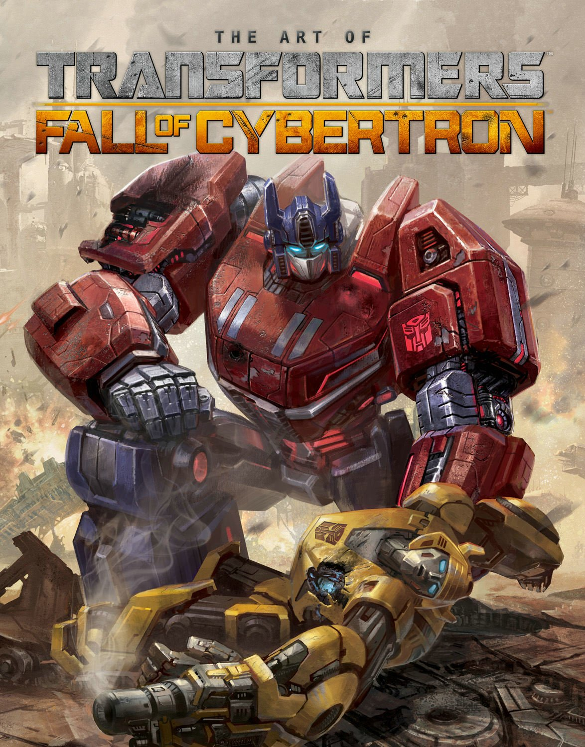 Transformers-Fall-of-Cybertron-Official-Strategy-Guide